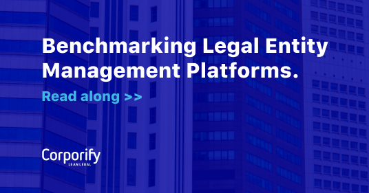 Benchmarking Legal Entity Management Platforms Featured